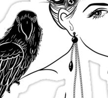 Parrot Girl 2 Sticker
