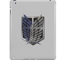 Attack On Titan, The Survey Corps, Scouting Legion, Scout Regiment, Recon Corps, Shingeki no Kyojin iPad Case/Skin