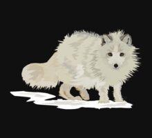 Arctic Fox vector Kids Clothes
