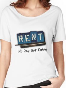 Rent The Musical Women's Relaxed Fit T-Shirt