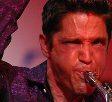 Smooth Jazz Saxophone Player Dave Koz by Barb White