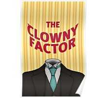 The Clowny Factor Poster