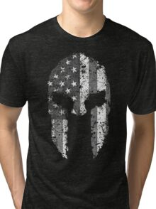 American Spartan - Subdued Tri-blend T-Shirt
