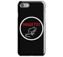 Mouse Rat iPhone Case/Skin