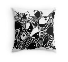 Fish fantasy Throw Pillow