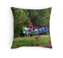 River Tour in Lier - Belgium Throw Pillow