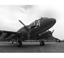 C-47 Skytrain , Duxford Spring 2015 Photographic Print