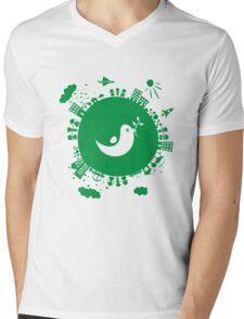 dove of peace Mens V-Neck T-Shirt