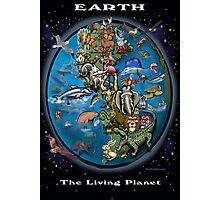 EARTH The Living Planet Photographic Print