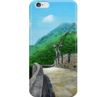 The Great Wall iPhone Case/Skin