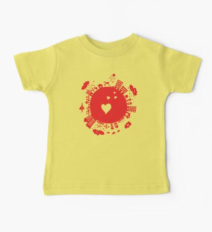 planet in love Baby Tee