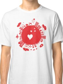 planet in love Classic T-Shirt