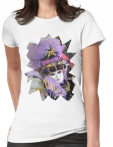 Violet Womens Fitted T-Shirt