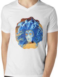 Blue blue blue Mens V-Neck T-Shirt