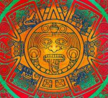 AZTEC SUN GOD Sticker