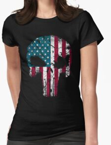 American Punisher 2.0 Womens Fitted T-Shirt