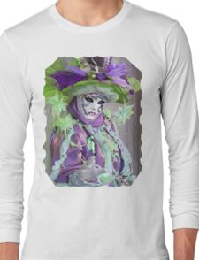 This mask is really beautiful Long Sleeve T-Shirt