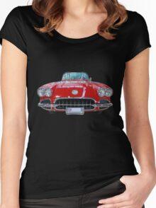 Corvette Women's Fitted Scoop T-Shirt