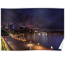 Circular Quay - Sydney Australia Poster