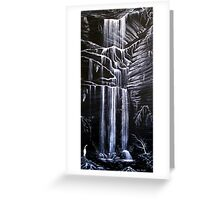 Horseshoe Falls, Blue Mountains, Australia Greeting Card
