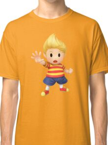Lucas Super Smash Bros. for Wii U and 3DS Classic T-Shirt
