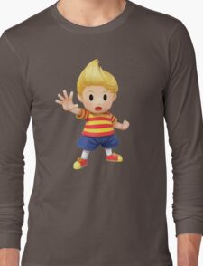 Lucas Super Smash Bros. for Wii U and 3DS Long Sleeve T-Shirt