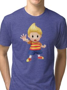 Lucas Super Smash Bros. for Wii U and 3DS Tri-blend T-Shirt