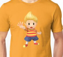 Lucas Super Smash Bros. for Wii U and 3DS Unisex T-Shirt