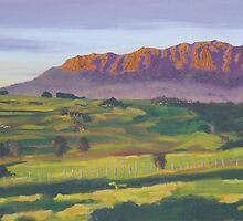 Mt Roland near Sheffield Tasmania by Nelson94