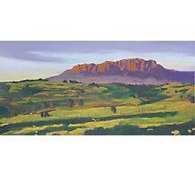 Mt Roland near Sheffield Tasmania Photographic Print