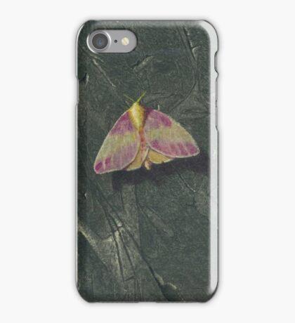 Rosy Maple Moth iPhone Case/Skin