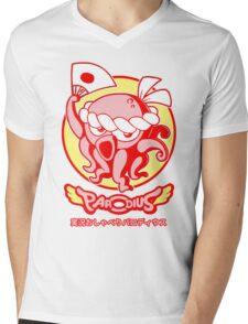 Jikkyou Oshaberi Parodius Mens V-Neck T-Shirt