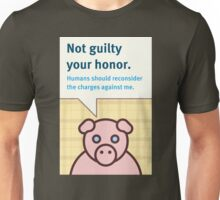 Not Guilty Unisex T-Shirt