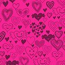 hearts card by Anastasiia Kucherenko