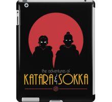 The Adventures of Katara and Sokka (Red) iPad Case/Skin