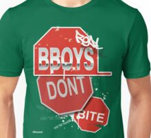 "AOM APPAREL - ""Real B-boys Don't Bite"" Unisex T-Shirt"