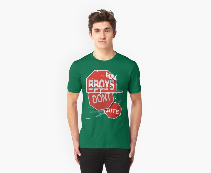 """AOM APPAREL - """"Real B-boys Don't Bite"""" by ChaseVmalone"""