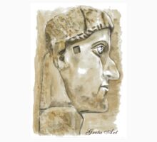 Emperor Constantine the Great, c. 315 One Piece - Long Sleeve