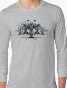 Visionaries #2 - Nikola Tesla - Building It In Your Imagination Long Sleeve T-Shirt