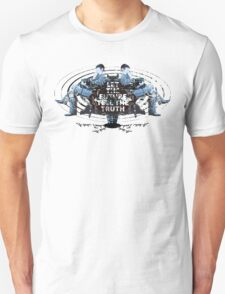 Visionaries #2 - Nikola Tesla - Building It In Your Imagination Unisex T-Shirt