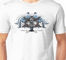 Visionaries #2 - Nikola Tesla - Building It In Your Imagination Unisex T-Shirt