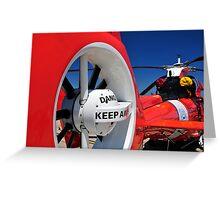 "Coast Guard HH-65 ""Dolphin"" Greeting Card"