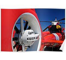 "Coast Guard HH-65 ""Dolphin"" Poster"