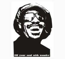 stevie wonder- fill your soul with wonder by AstaroClothing