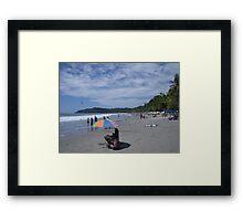 Manuel Antonio Beach Framed Print
