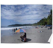 Manuel Antonio Beach Poster