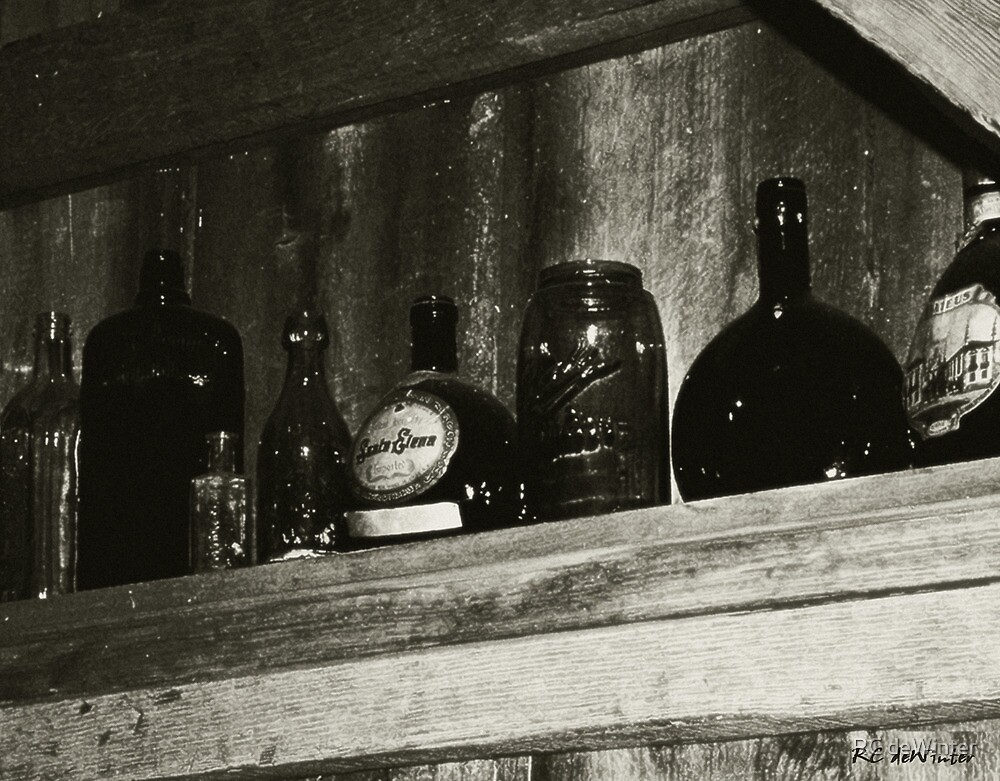 Old & Forgotten (Texas Bar) by RC deWinter