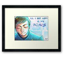 Star Trek - Bones Framed Print