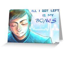 Star Trek - Bones Greeting Card