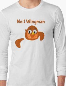 No.1 Wingman | Broken Wing Long Sleeve T-Shirt